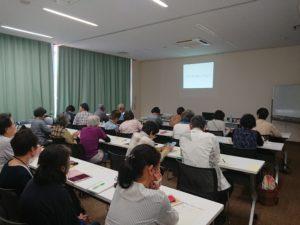 武川図書館の講座風景